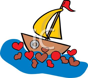 350x308 Sailing Boat Clipart Little Boat