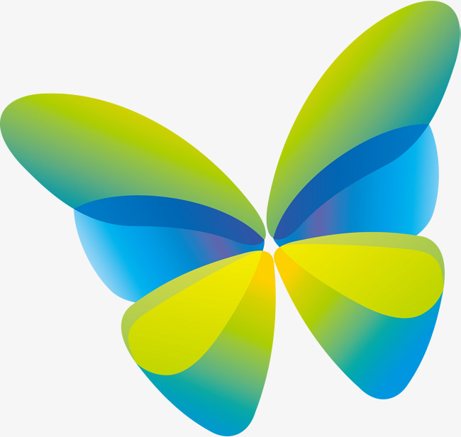 650x616 Green Butterfly, Green, Simple, Butterfly Png Image And Clipart