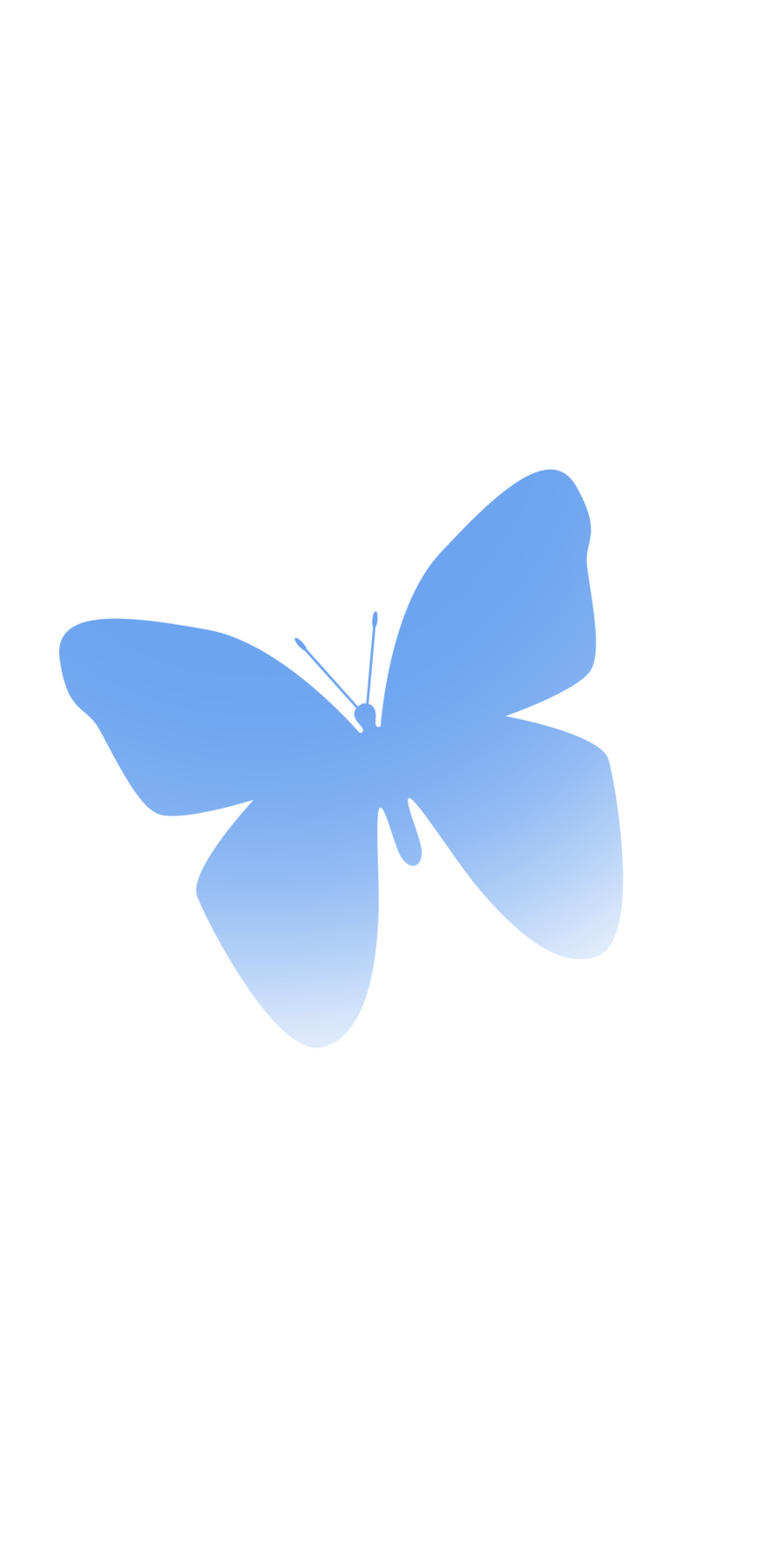 900x1780 Png Simple Butterfly By Ucurmi