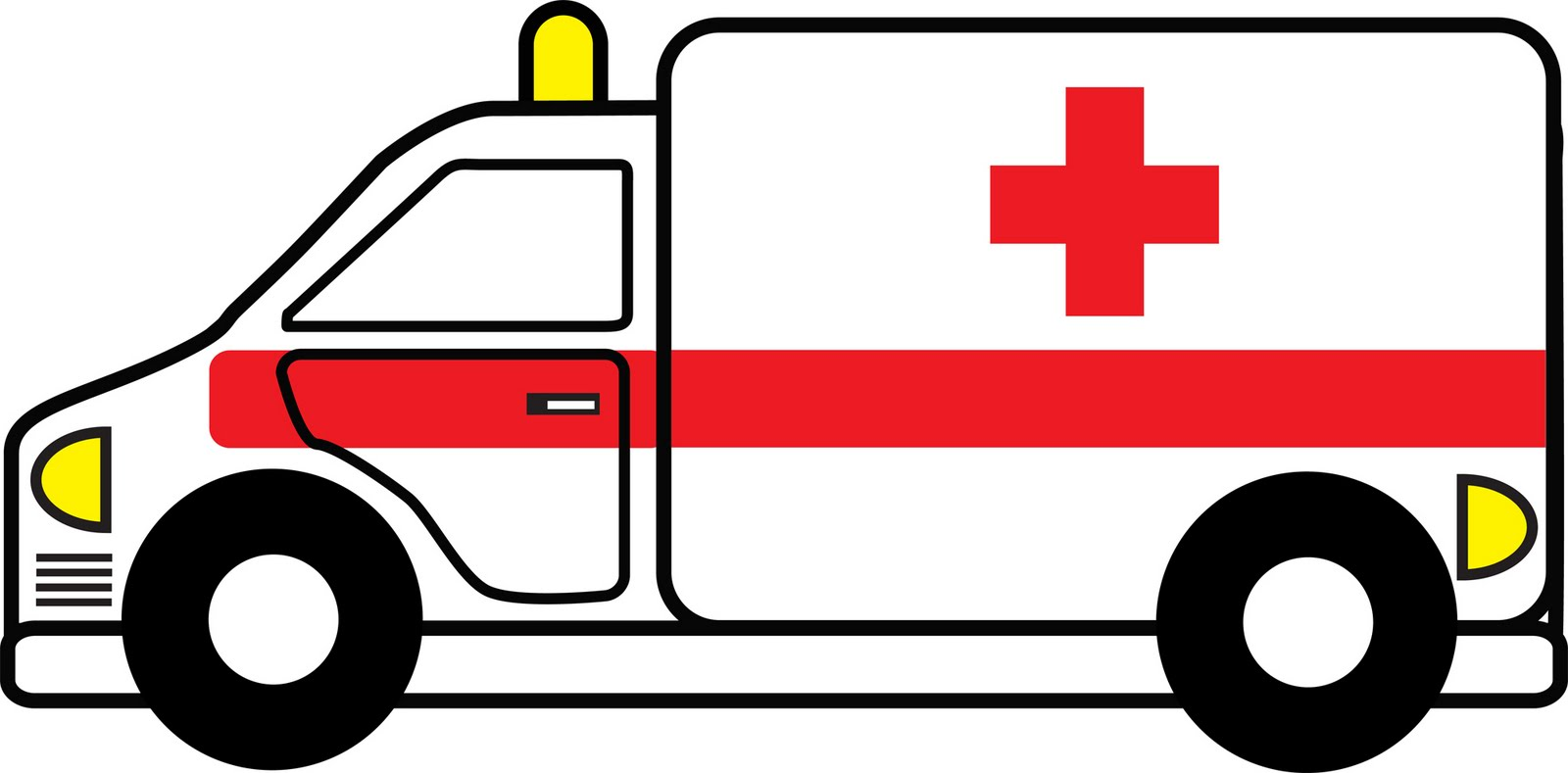 1600x789 28 Collection Of Simple Ambulance Drawing High Quality Free