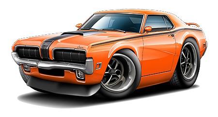 450x242 Best Muscle Car Clipart