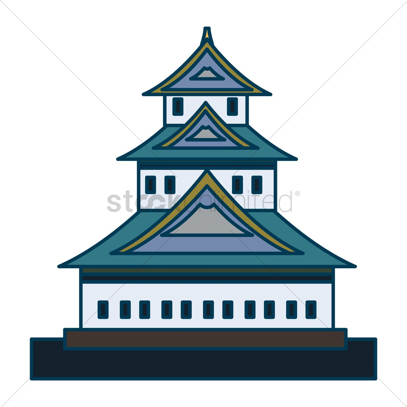 Simple Castle Clipart at GetDrawings com | Free for personal