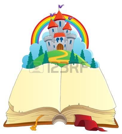 409x450 Fairy Tale Castle Clipart