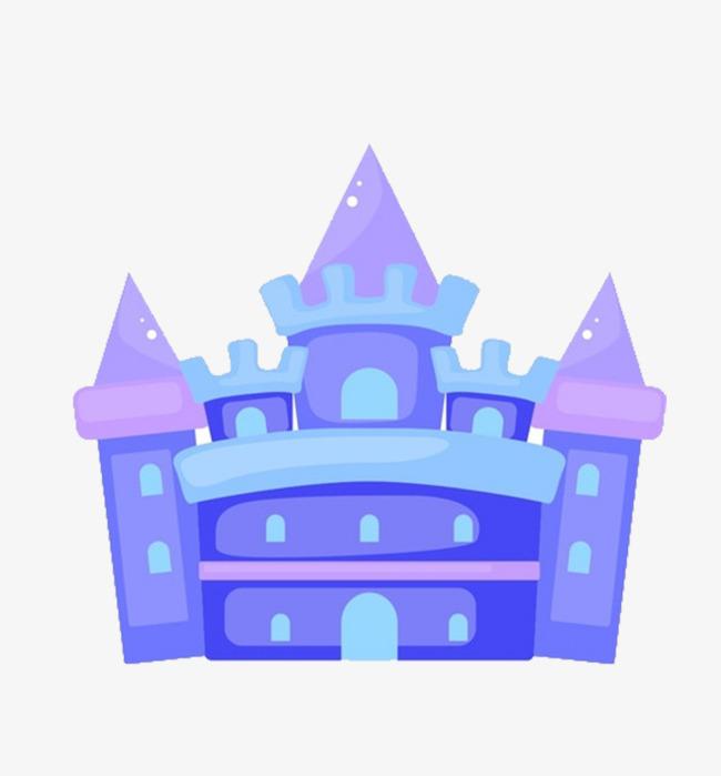 650x699 Blue Dream Castle Cartoons, Blue, Castle, Cartoon Png Image