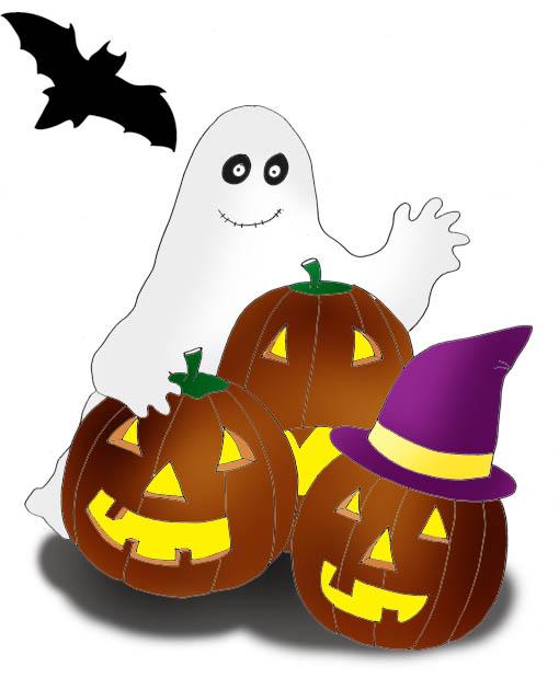 510x619 Happy Halloween Clipart
