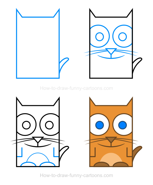 520x629 How To Draw A Cat How To Draw Cat, Cat Clipart