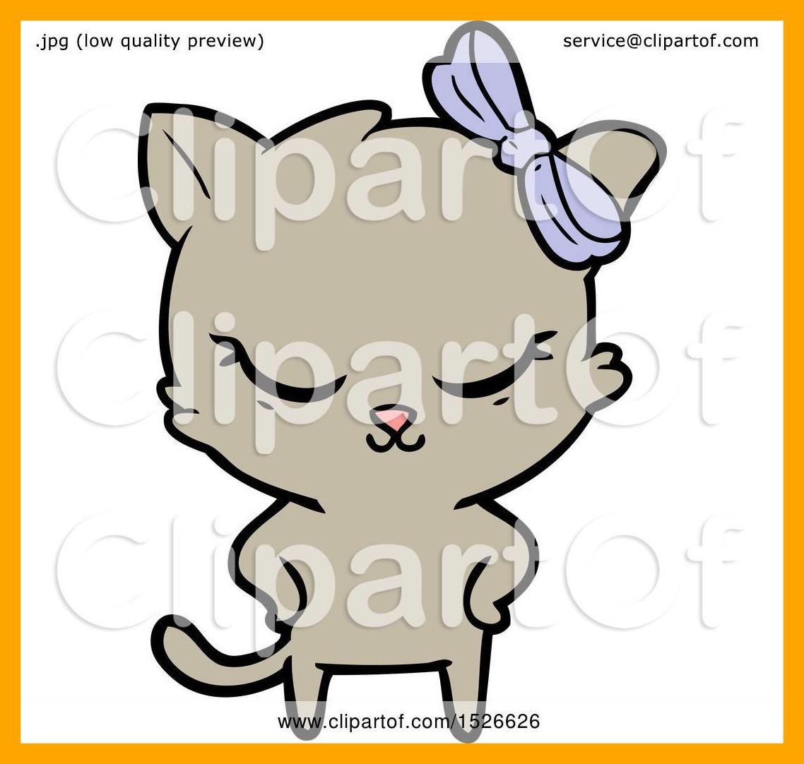 1138x1082 Inspiring Cute Cartoon Cat Clipart Pict Of Clip Art Style