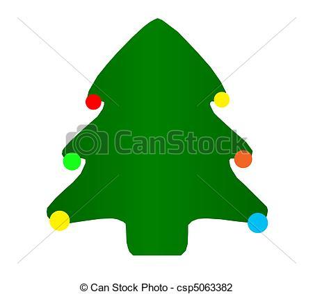 450x424 Simple Christmas Tree Christmas Tree Clip Art Illustration Clip