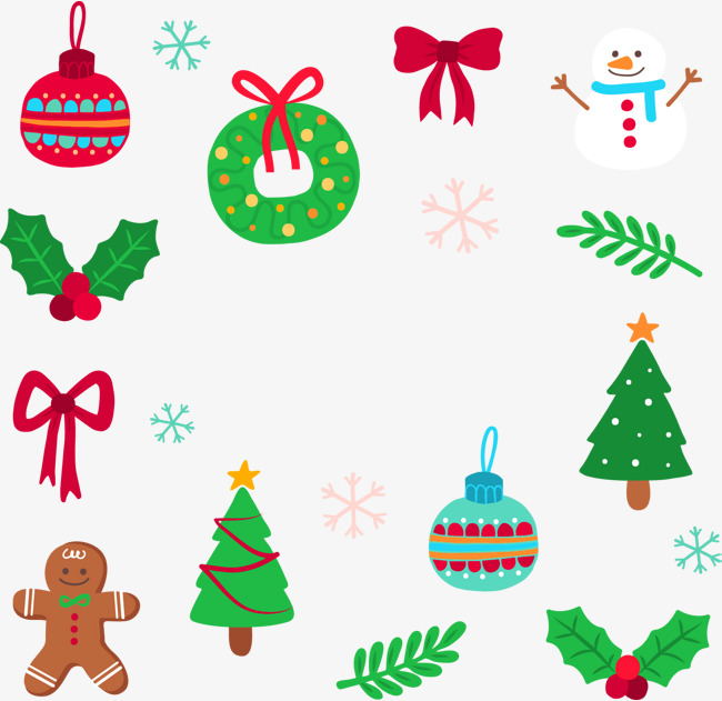 650x631 Green Simple Christmas Day Element, Green, Simple, Christmas Png
