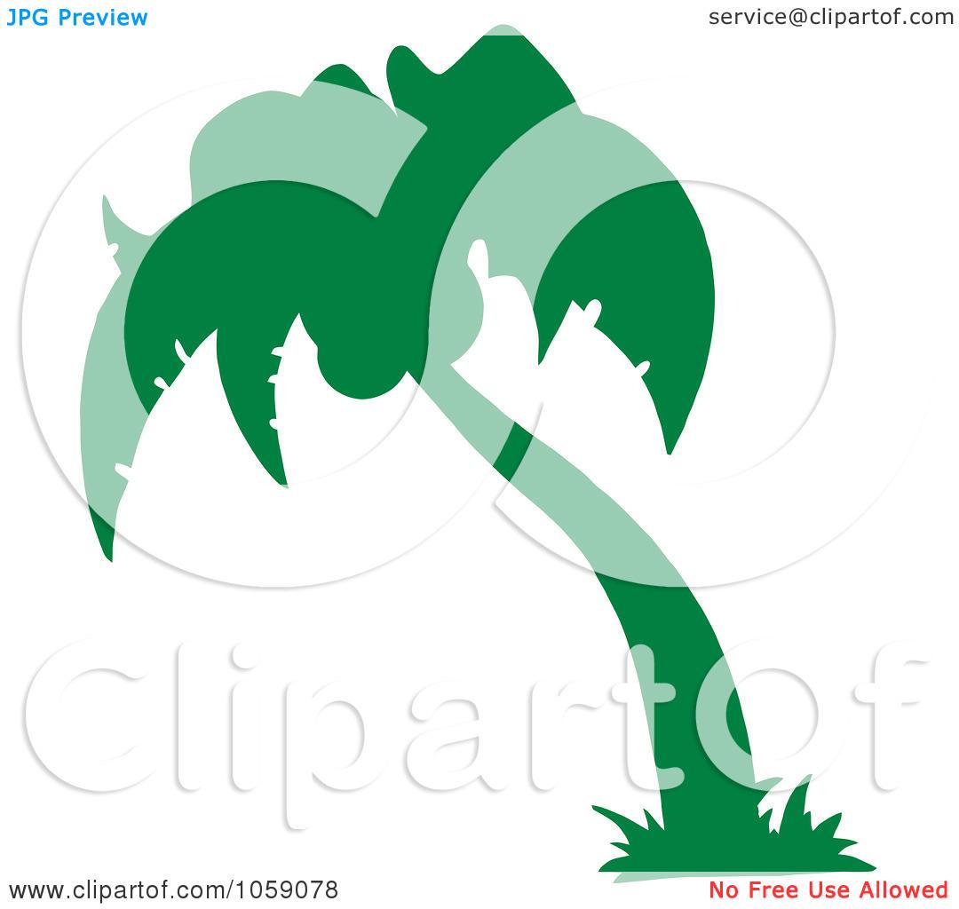 1080x1024 Simple Palm Tree Clip Art