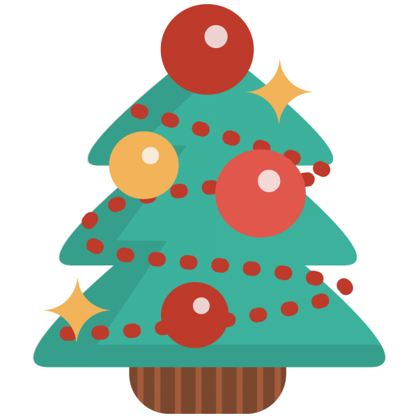 600x600 Simple Christmas Tree Clipart 4 Nice Clip Art