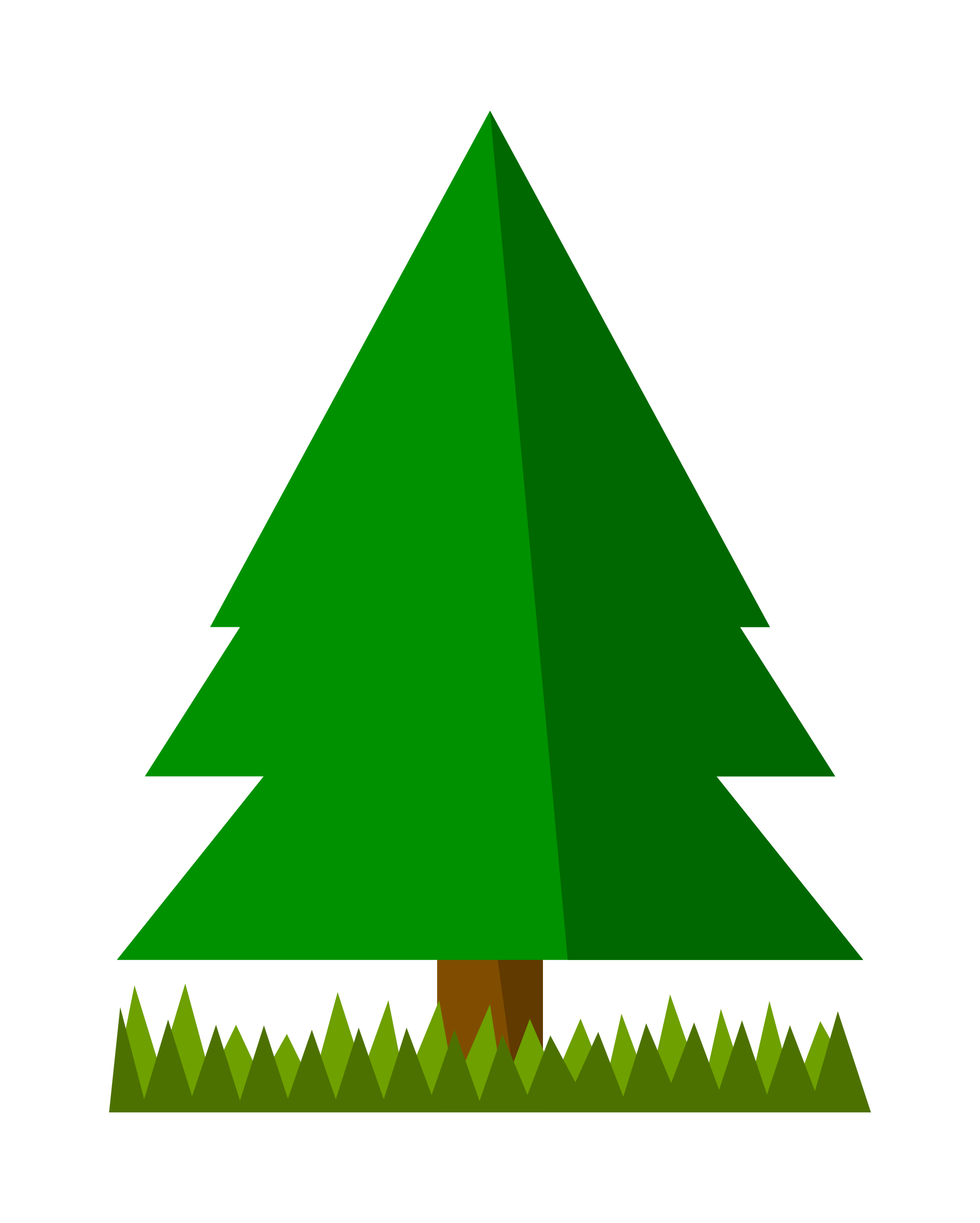 1924x2400 Tree Pine Public Domain Clip Art