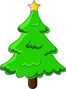 223x300 Collection Of Blank Christmas Tree Clipart High Quality