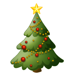 288x288 Free Christmas Background Clipart Christmas Tree Decoration