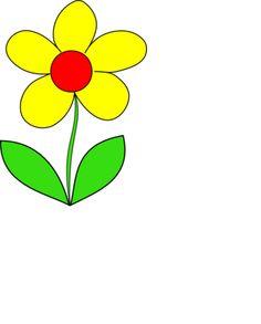 236x293 Cartoon Flowers Clip Art Simple Flower Clip Art