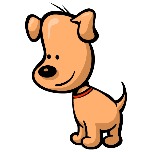 Simple Dog Clipart