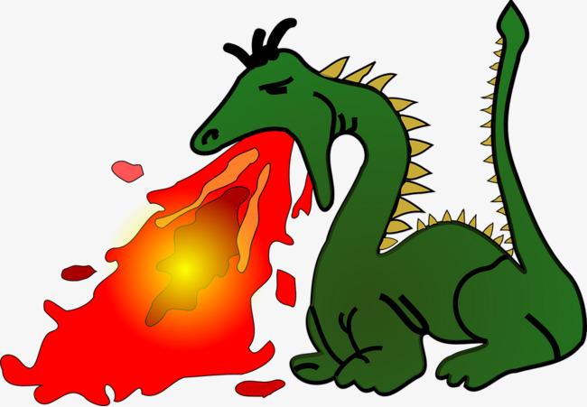 650x451 Abstract Art Green Dragon Spitting Fire, Abstract, Artwork, Green