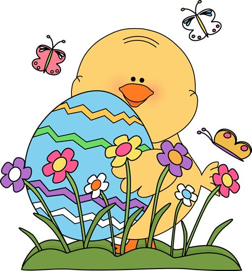 Simple Easter Bunny Clipart