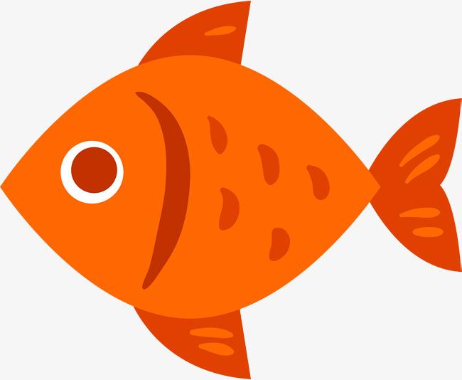650x534 Orange Simple Minnow, Orange, Simple, Fish Png Image And Clipart