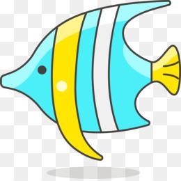 260x260 Tropical Fish Angelfish Aquarium Clip Art