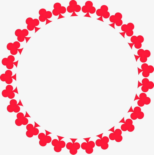 650x652 Simple Hearts Border, Hearts, Poker, Frame Png Image And Clipart