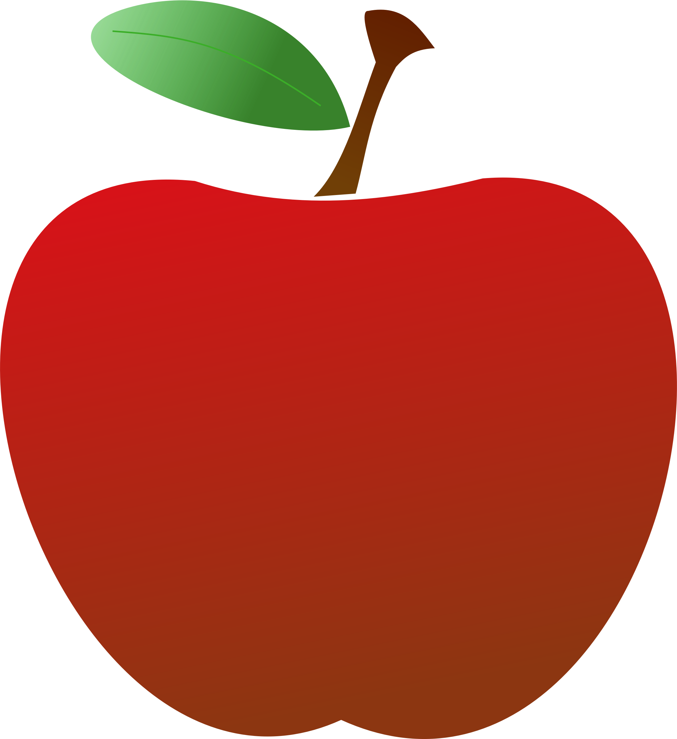 2192x2391 Simple Red Apple Icons Png