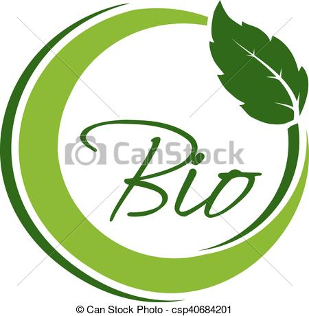450x460 Vector Nature Circular Symbol With Leaf, Natural Simple Vector