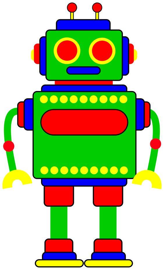 564x925 Robot Clip Art Free Clipart Panda