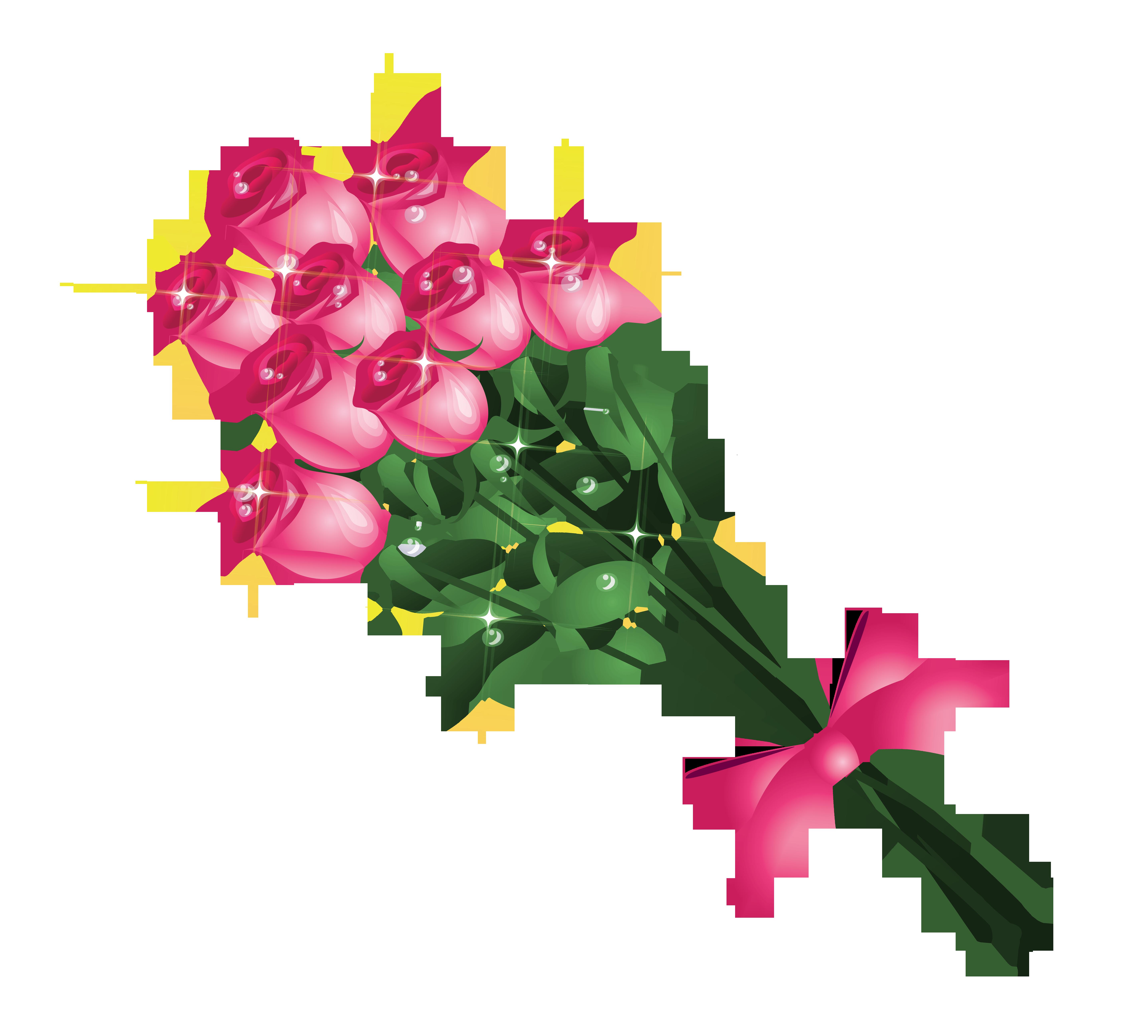 5747x5185 Bouquet Clipart Simple Bouquet