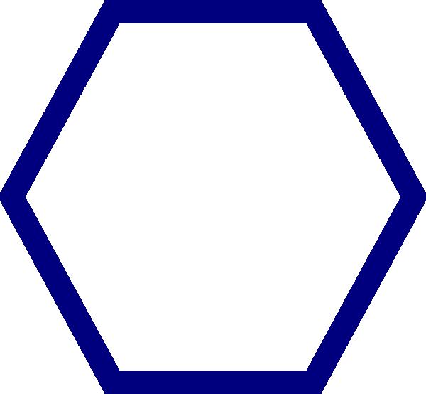 600x554 Hexagon Clipart