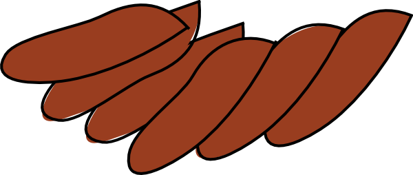 600x254 Turkey Wing Clipart