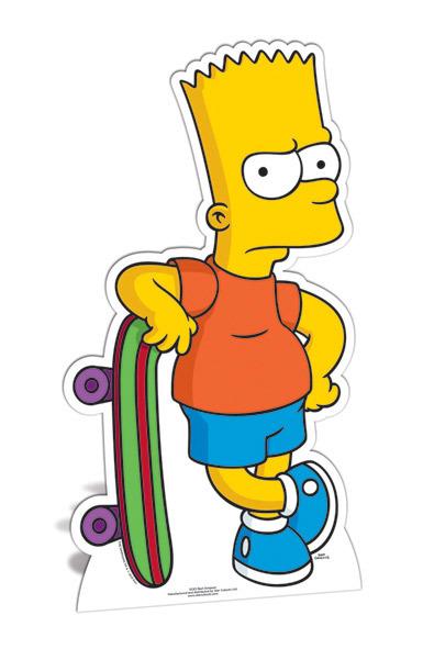 385x591 The Simpsons Clipart Bart Simpson'90711