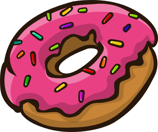 544x457 The Top 5 Best Blogs On Simpsons Donut Clipart