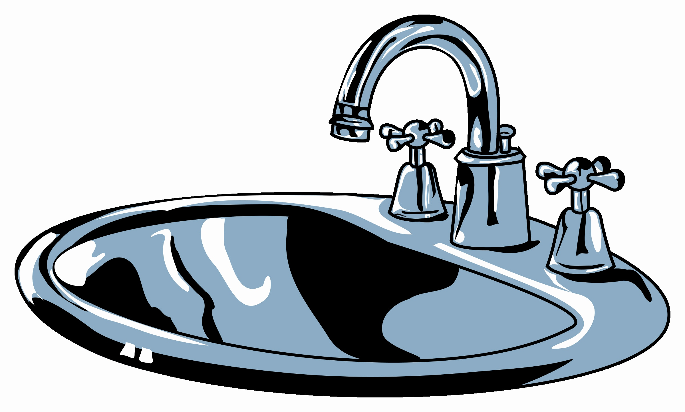 2400x1443 Hands Free Kitchen Faucet Lovely H Sink Clip Art Kitchen Cliparti