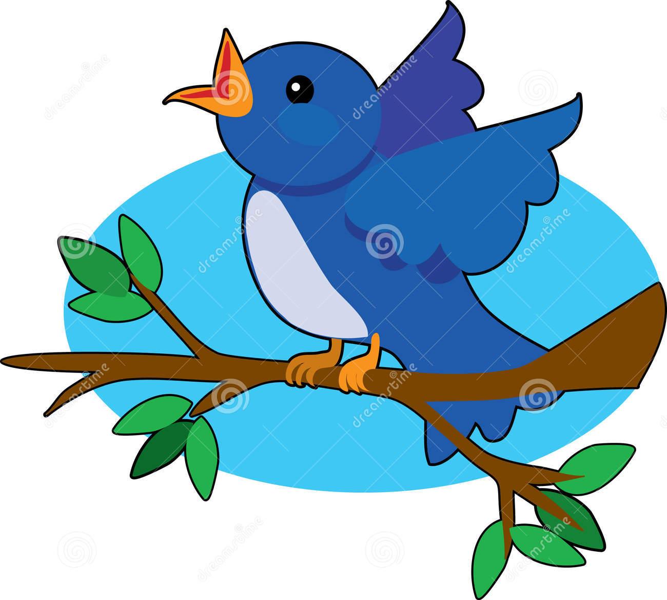 1300x1168 Bluebird Clipart Bird Sing
