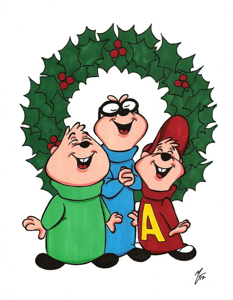 788x1013 Chipmunk Clipart Christmas