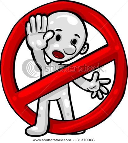 421x470 Do Not Symbol Clipart