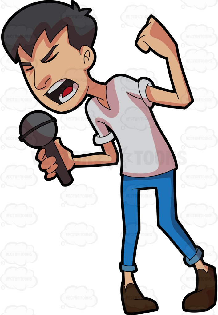Singing Clipart