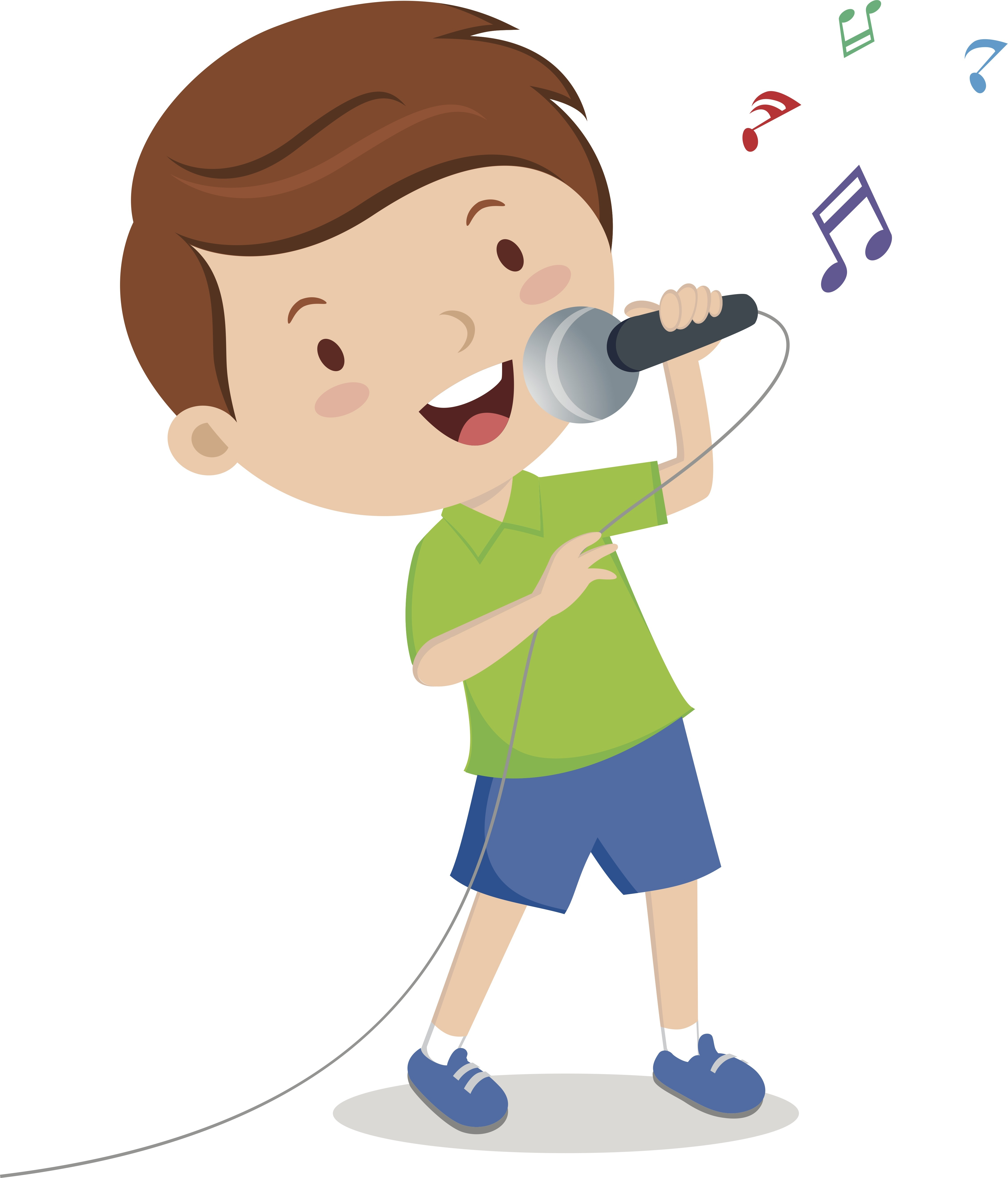 4527x5291 Clipart Of Child Singing Amp Clip Art Of Child Singing Images