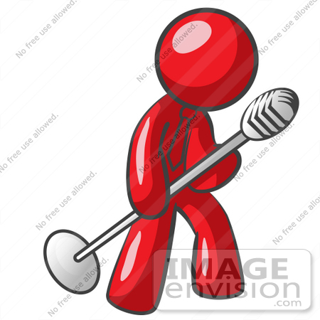 450x450 Singing Clipart Clip Art Illustration Of A Teenage Girl Singing