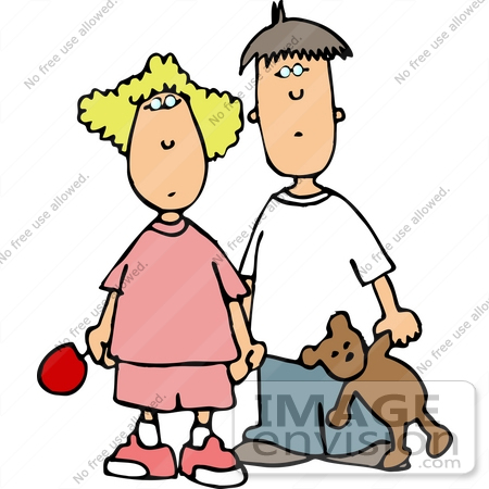 450x450 Brother And Sister Clipart
