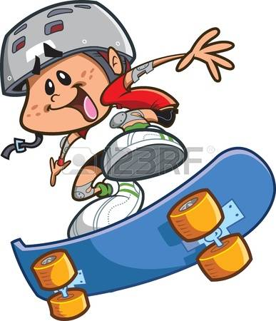 387x450 Cartoon Skateboard Clipart, Explore Pictures