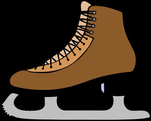 600x483 Cliparts Hockey Skates