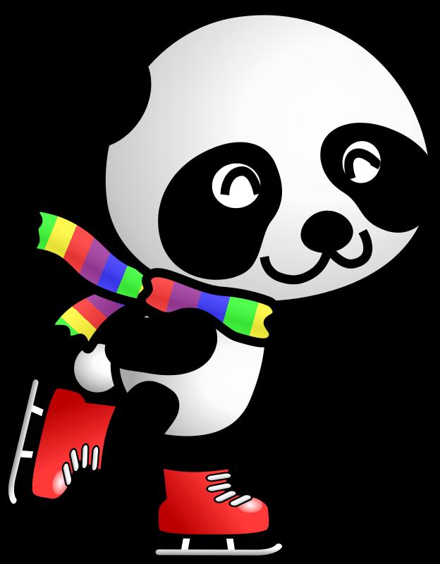 624x800 Cute Panda Clipart