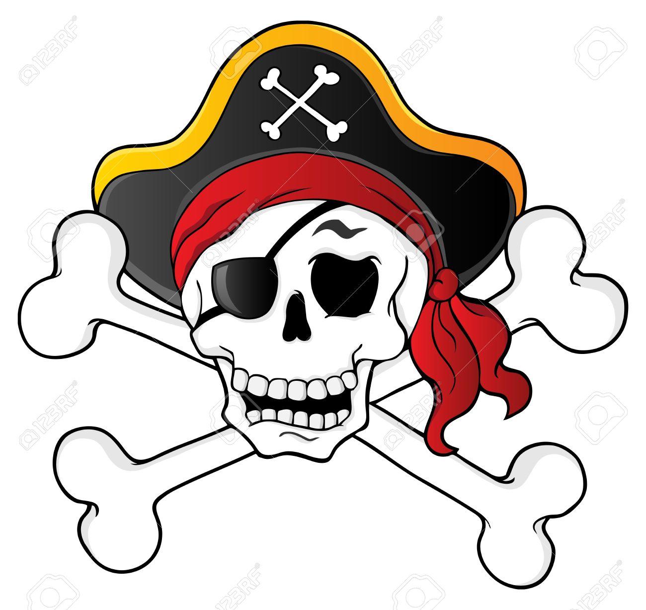 1300x1227 Pirate Skull Clipart Clip