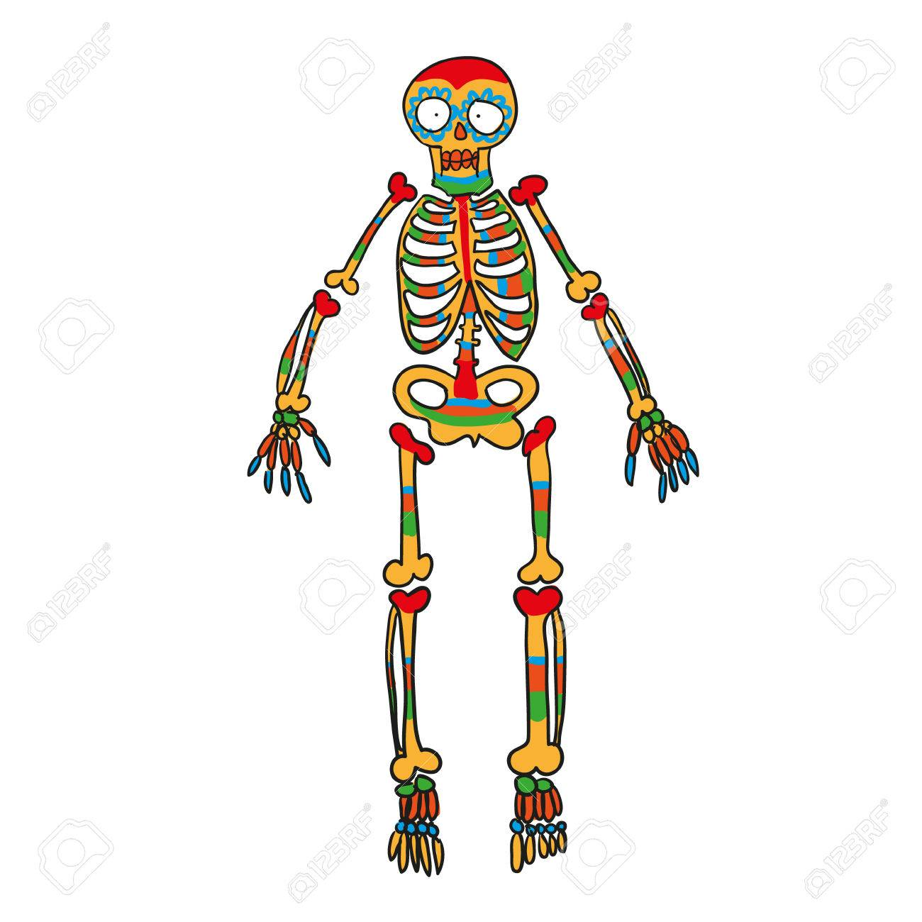 1300x1300 Practical Skeleton Pictures To Color Printable Coloring Pages