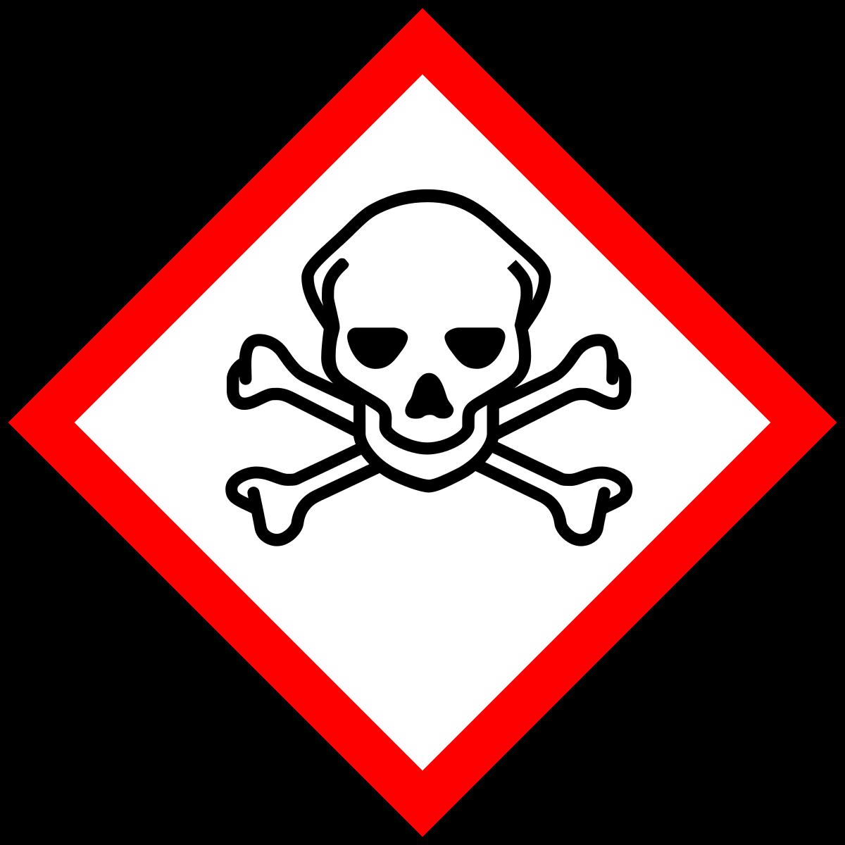 1200x1200 Clip Art Poison Sign Clip Art