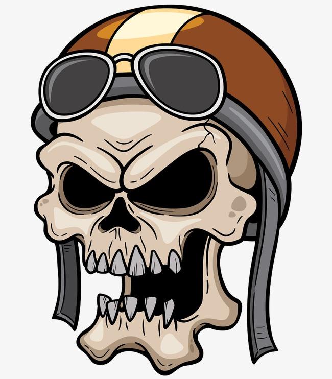 650x742 Cranial Skeleton Head With A Hat, Cranial Skeleton Head, Cartoon