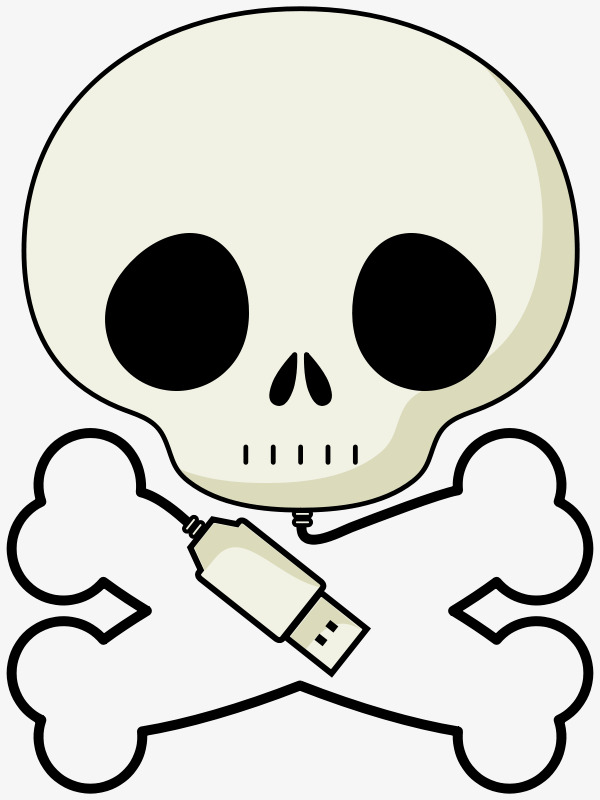 600x800 Grey Cartoon Skeleton, Cartoon, Gray, Skull Png Image And Clipart