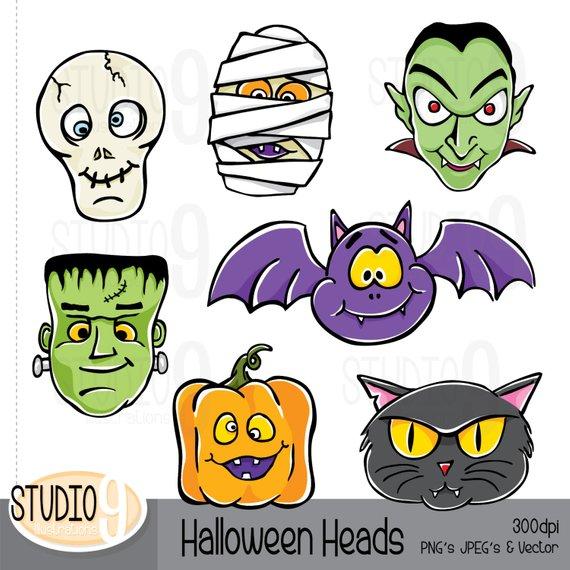 570x570 Halloween Clipart Monster Clip Art, Halloween Download, Vector